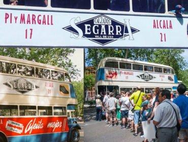 Calzados Segarra en los autobuses de Madrid