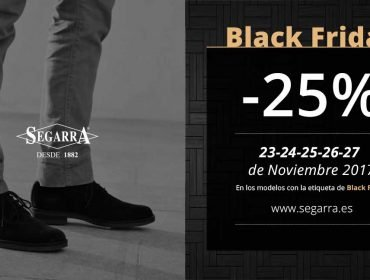 El auténtico Black Friday, solo en Calzados Segarra
