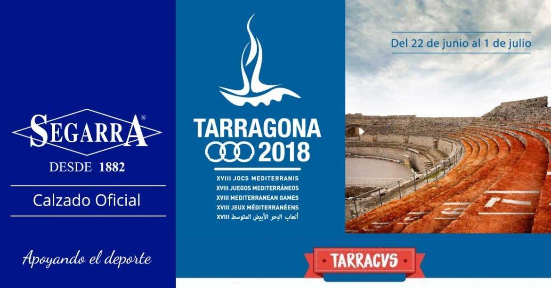 Calzados Segarra en los Juegos del Mediterraneo