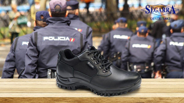 Calzado para la policía