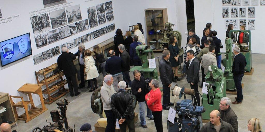 tienda museo de Calzados Segarra