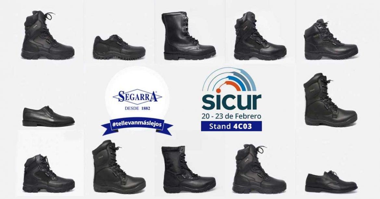 Referentes del calzado en SICUR 2018