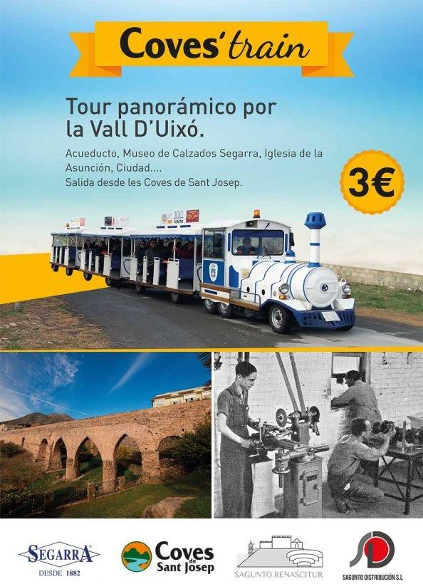 Visita La Vall d´Uixo y el museo de Calzados Segarra en tren