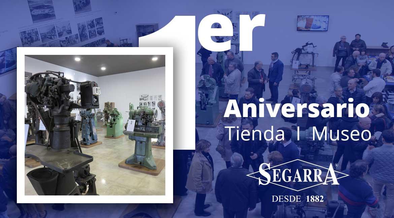 El Museo de Calzados Segarra cumple un año