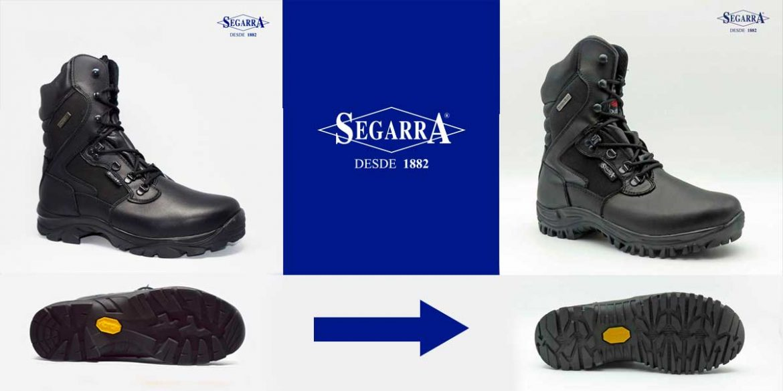 La evolución de las suelas VIBRAM en las botas Segarra