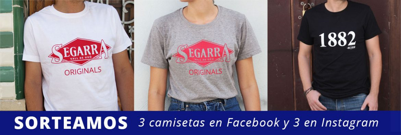 Sorteamos camisetas «Segarra Originals» y «1882»