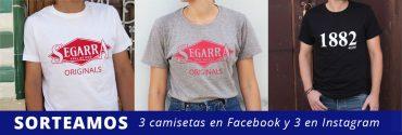 """Sorteamos camisetas """"Segarra Originals"""" y """"1882"""""""