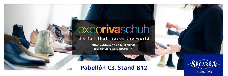 Calzados Segarra vuelve a la Expo Riva Schuh