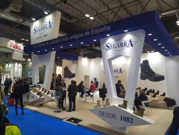 Calzados Segarra brilló en SICUR 2020