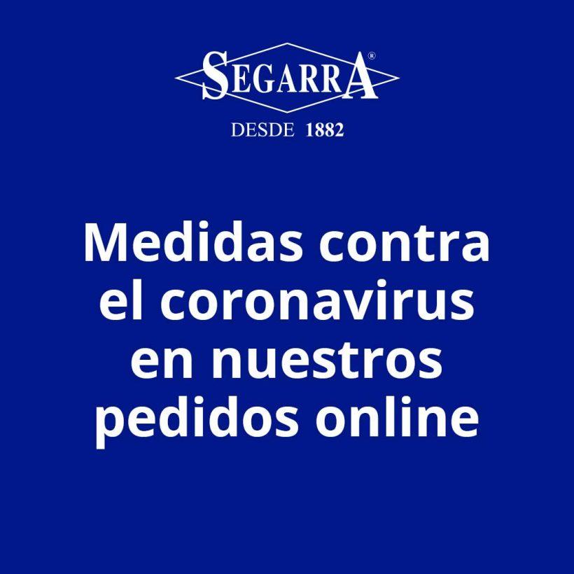 Medidas contra el coronavirus en nuestros pedidos online
