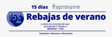 ¡Ya está aquí #Segarrainsummer con descuentos del 15%!