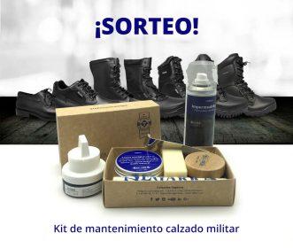 Llévate premio con tus botas militares